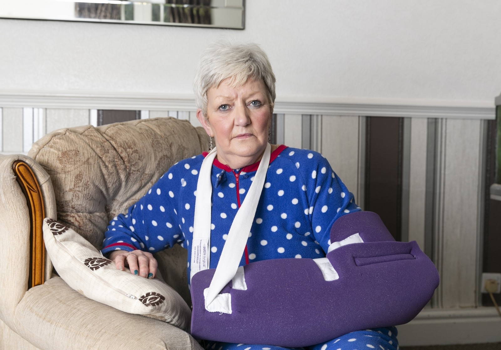 Gran Lucky To Be Alive After Being Savagely Mauled By Two Dogs