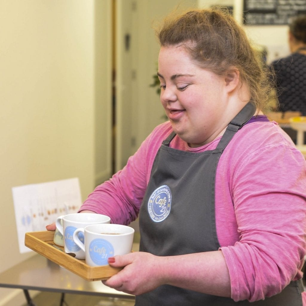 New Cafe Staffed By People With Down Syndrome Launched Following Successful Trial