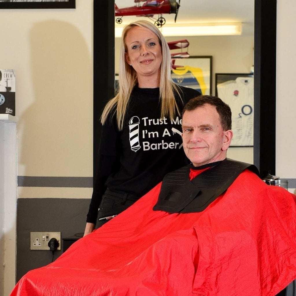 Hero Hairdresser Saves Customer's Life After Spotting Lump On His Head Which Turned Out To Be Cancer