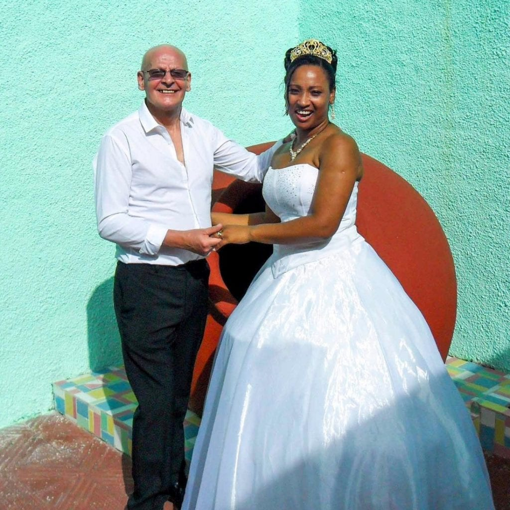 Pensioner Weds Woman He Met On Holiday Despite A 36 Year Age Gap - But Insists Their Sex Life Is
