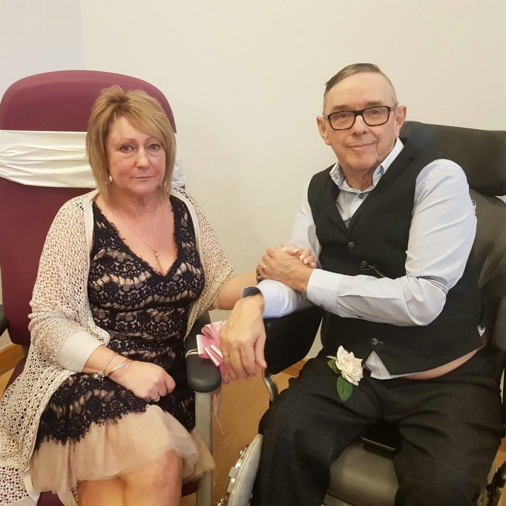 Cancer Patient Has His Dying Wish Fulfilled When He Marries Long Term Partner In Hospital