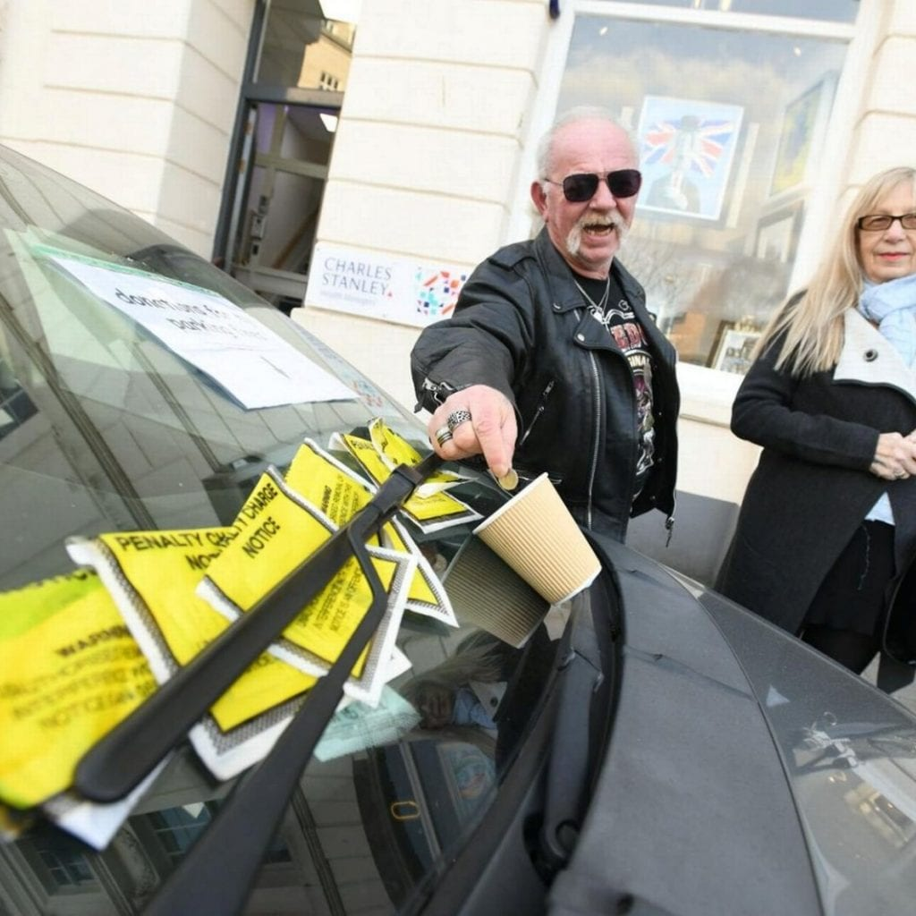 Cheeky Driver Accepting Donations To Help Pay For Parking Fines - After Racking Up Hundreds Of Pounds In Tickets