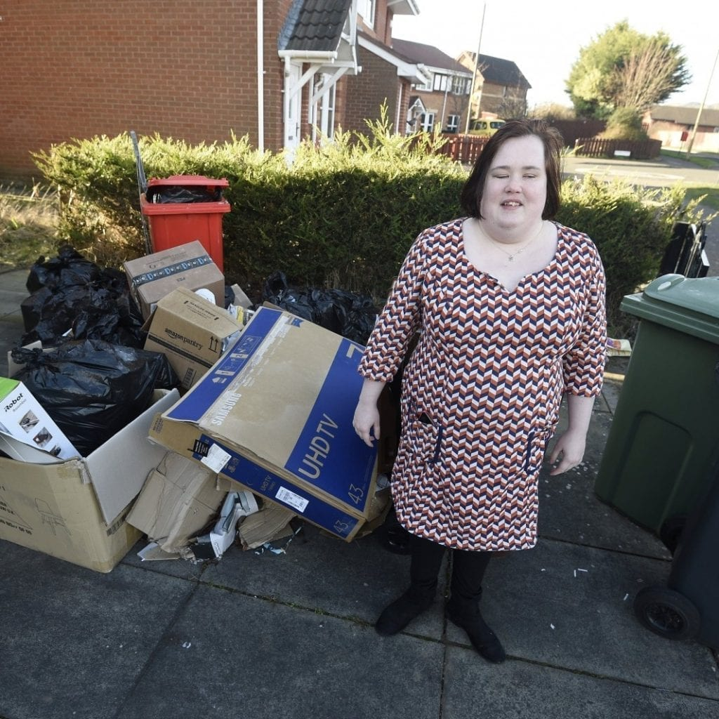 Council Bosses Have Apologised To A Blind Woman After She Claimed Her Bins Had Not Been Emptied Since September