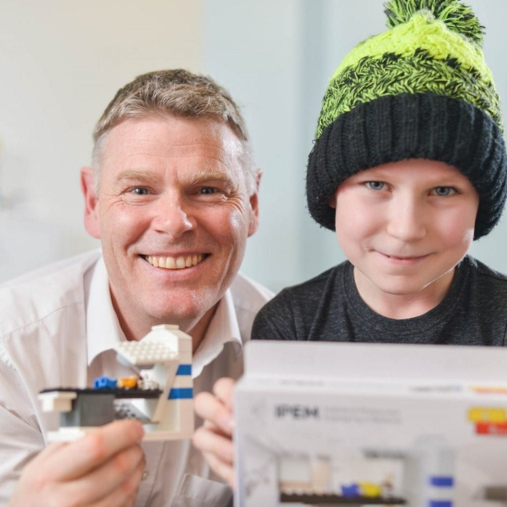 Lego-Obsessed Seven-Year-Old Suffering From Brain Cancer Conquered Fear Of Hospital Machines By Building Scanner Out Of Toy Bricks