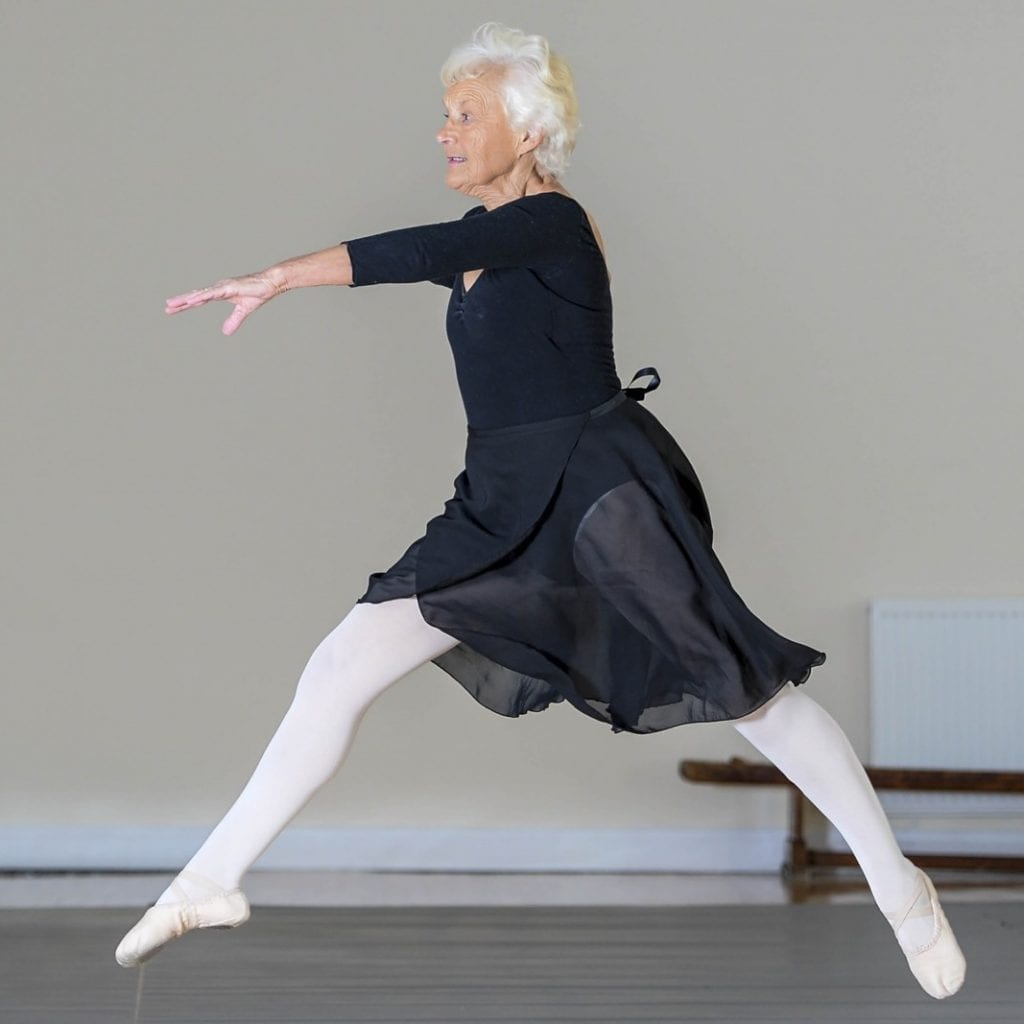 Britain's Oldest Ballerina Has Achieved The Highest Accolade Possible From The Royal Academy Of Dance - As She Celebrates Her 81st Birthday