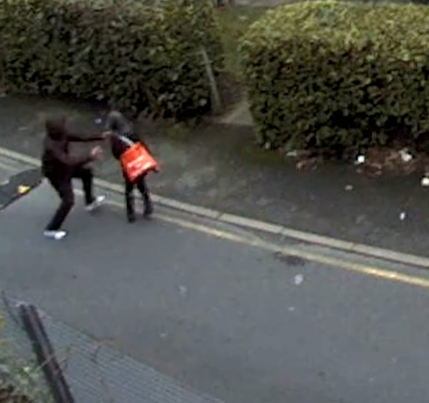 Police Hunt Callous Thugs Caught On Camera Dragging Pensioner To The Ground In Shocking Street Robbery