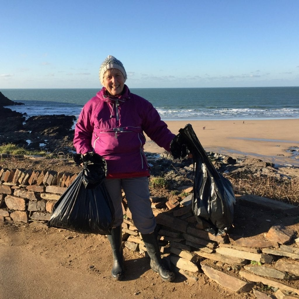 Woman Spends An Entire Year Cleaning Plastic Off 52 Beaches In Cornwall