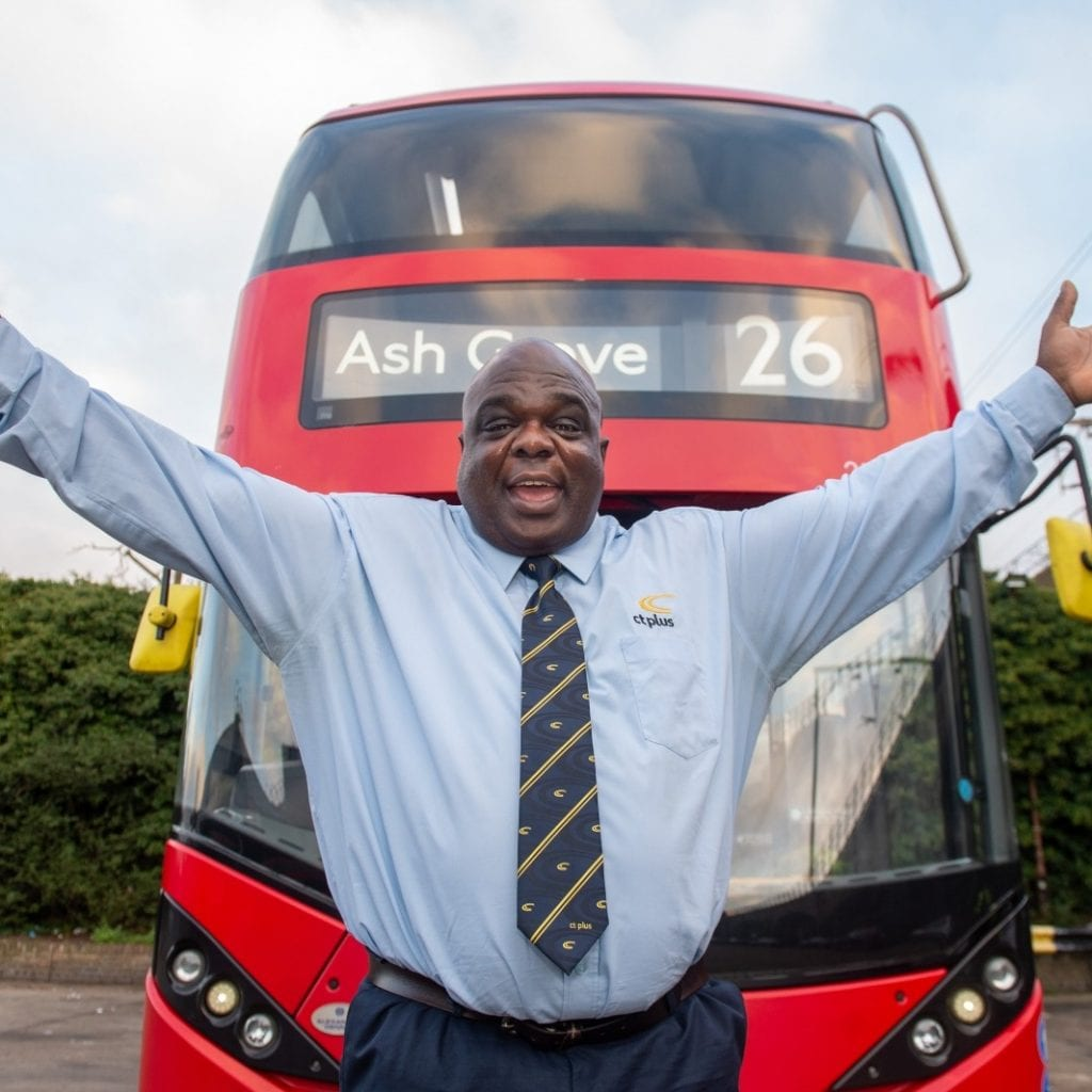 Former Homeless Man Has Gone From The Street To A Seat And Been Named London's Happiest BUS DRIVER