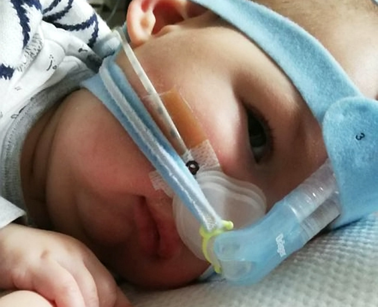 Family Of Baby Boy Given Three Months To Live Are Desperately Waiting To See If The NHS Will Pay For The Drug That Could Save His Life