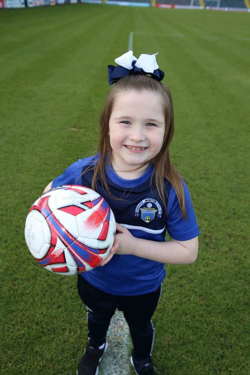 Celtic-Mad Six-Year-Old Has Signed For The Club - Becoming One Of The Youngest Females Ever To Do So