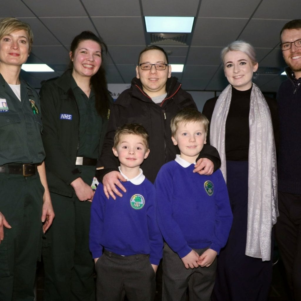 Two Young Brothers Praised For Saving Dad's Life When They Called 999 After He Collapsed