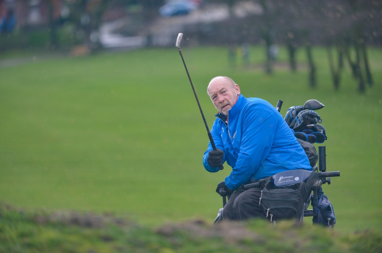 Golfer Who Uses Just One Arm To Play His Shots Is Set To Become The First Paraplegic Captain Of An Able-Bodied Club