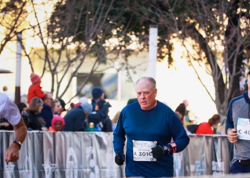 Granddad Who Had Heart Attack While Running Marathon Crosses The Finish Line One Year Later