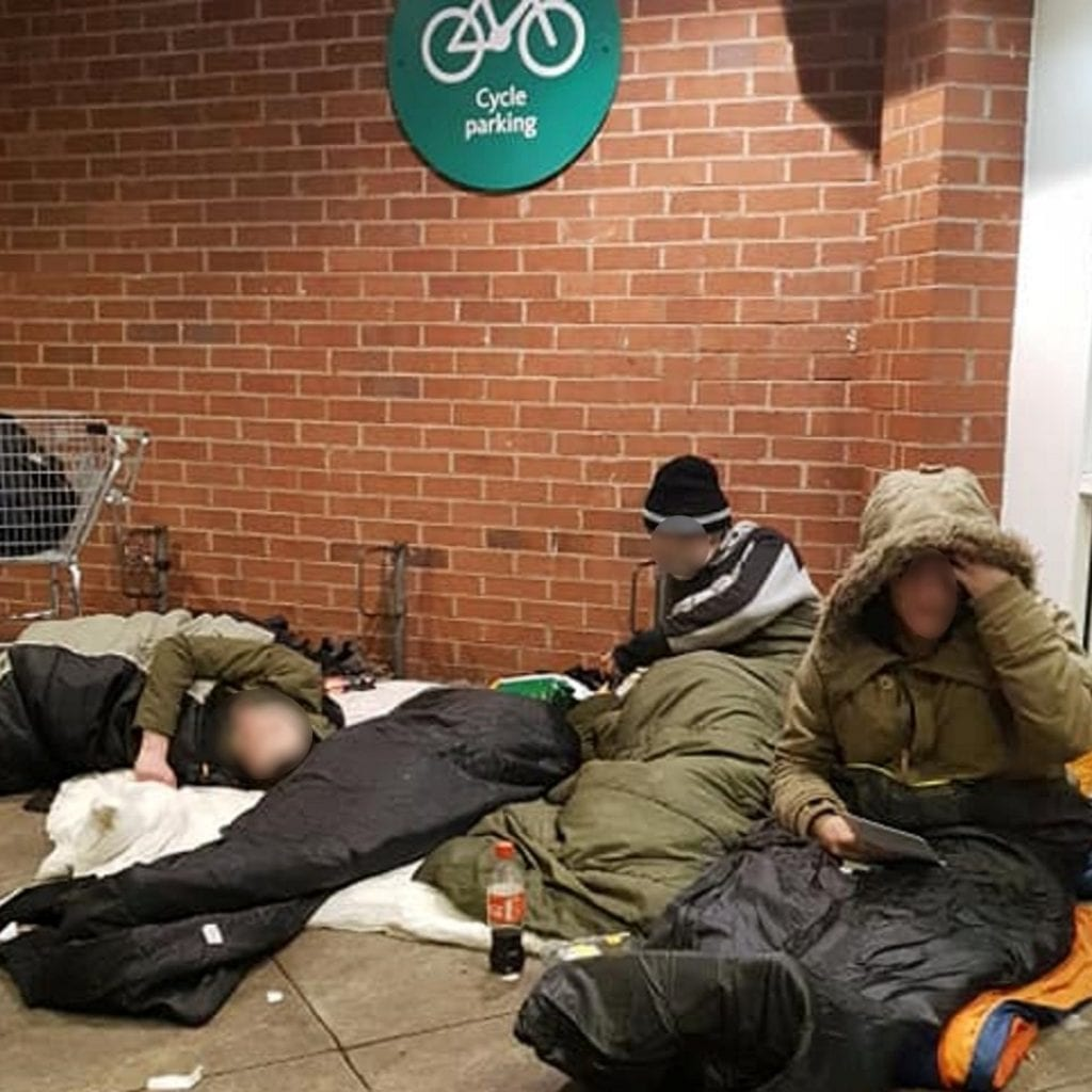 Supermarket Bosses Admit To Binning Items Owned By Members Of The Homeless Community