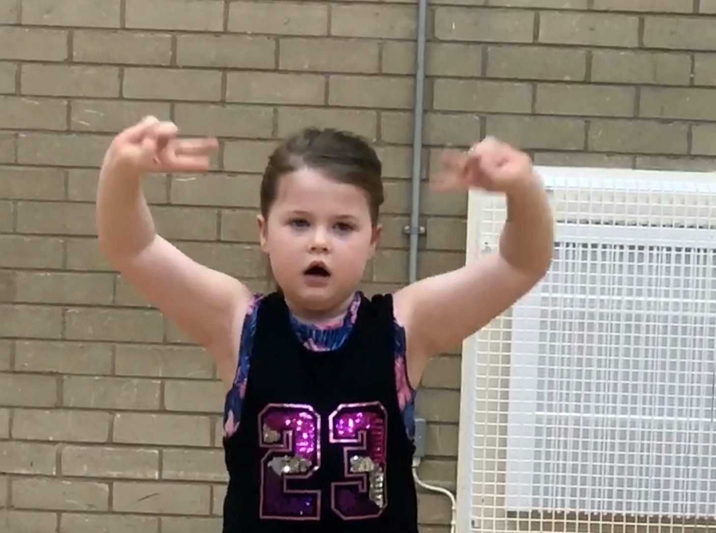 Seven-Year-Old Wows Crowd With Rendition Of 'This Is Me' - In Sign Language