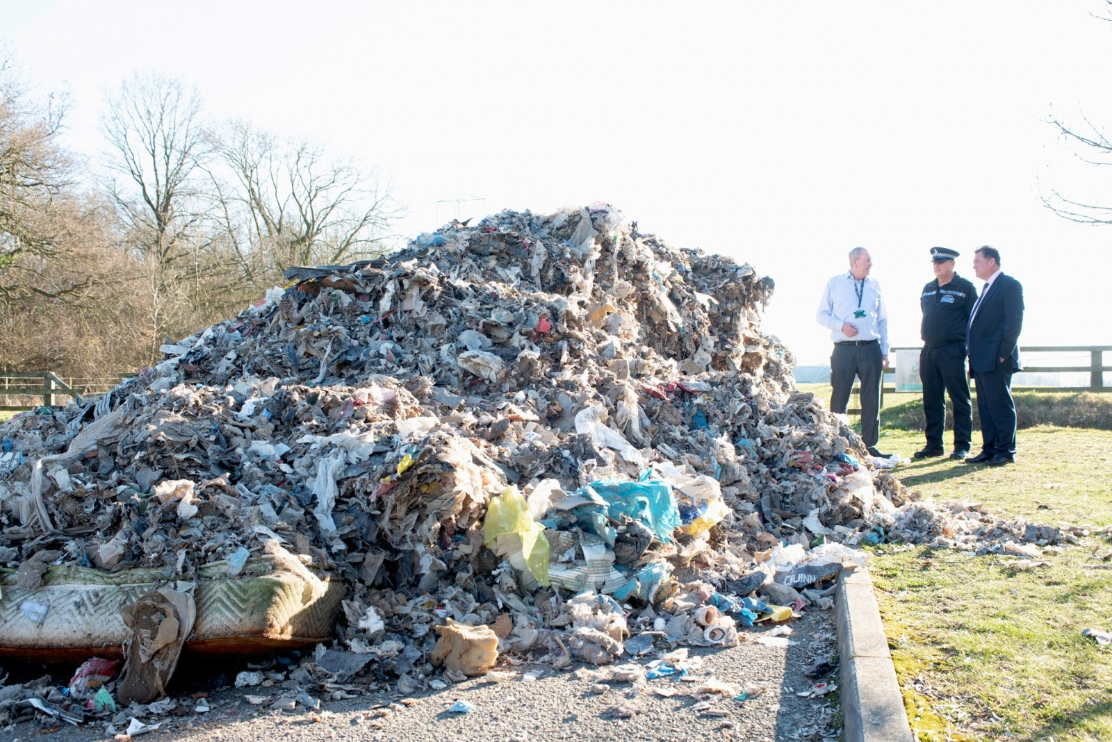 Shocking Pictures Show Huge Mounds Of Fly-Tipped Waste Weighing The Same As EIGHT Elephants