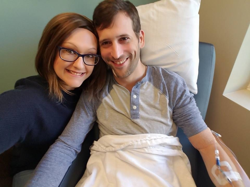 Couple Both Diagnosed With Cancer Within Months Of Each Other Renew Their Wedding Vows TWICE As They Battle The Illness Together