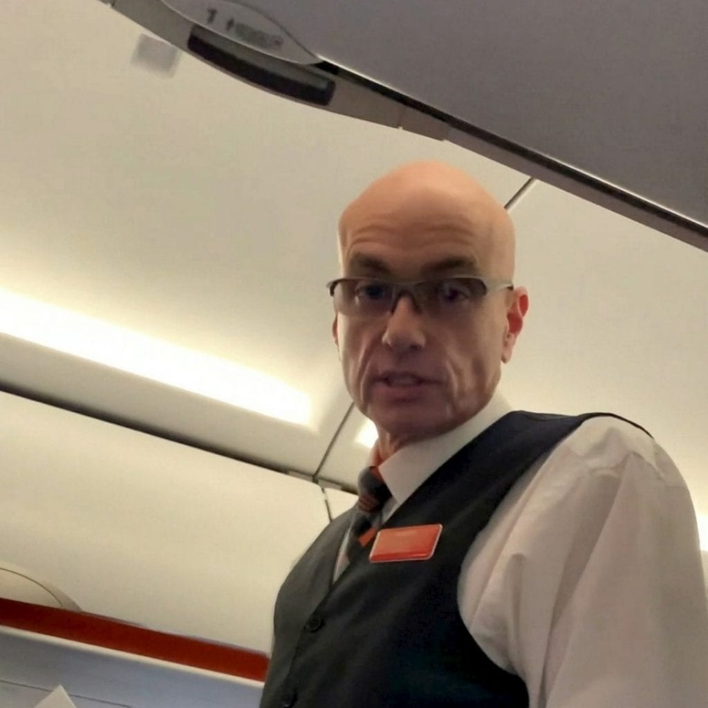 Airline Passenger Offered £500 After Steward Burst In On Him Sat On The Loo Mid-Flight