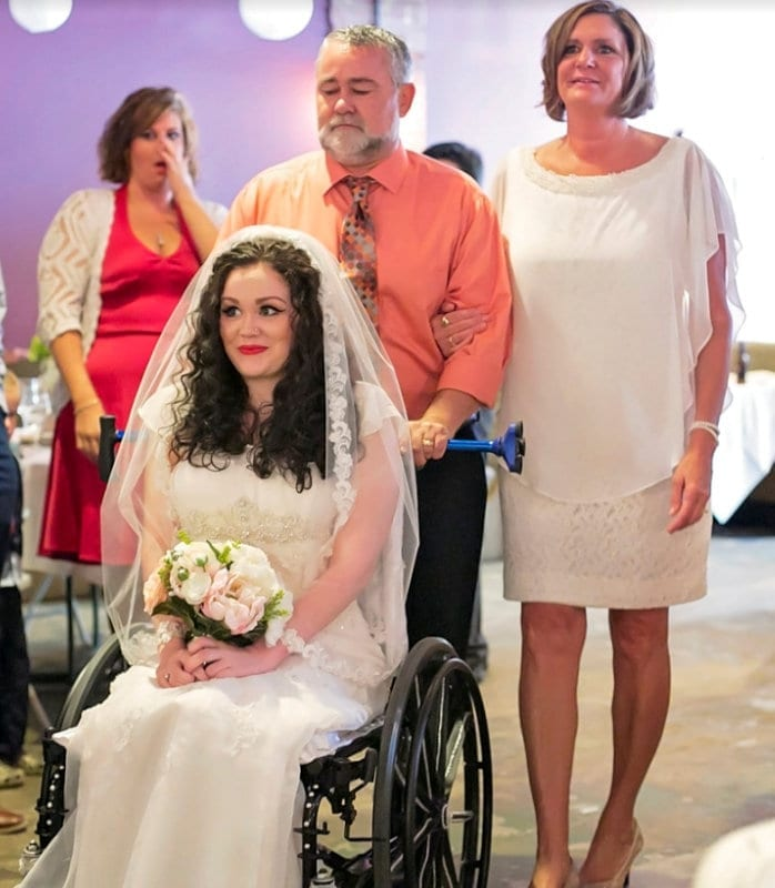 Disabled Woman Says She Is Happier – After LOSING The Ability To Walk