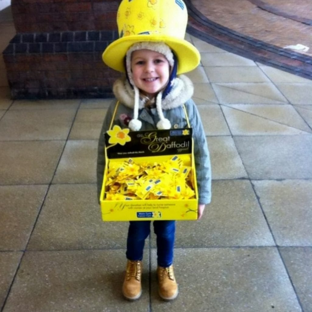 Meet The Eight-Year-Old Who Has Collected For Marie Curie Every Year Since She Was Three