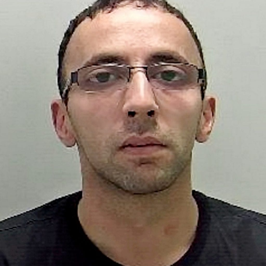 Thug Who Poured Boiling Water Over His Girlfriend When She Left Him Is Jailed For Five Years