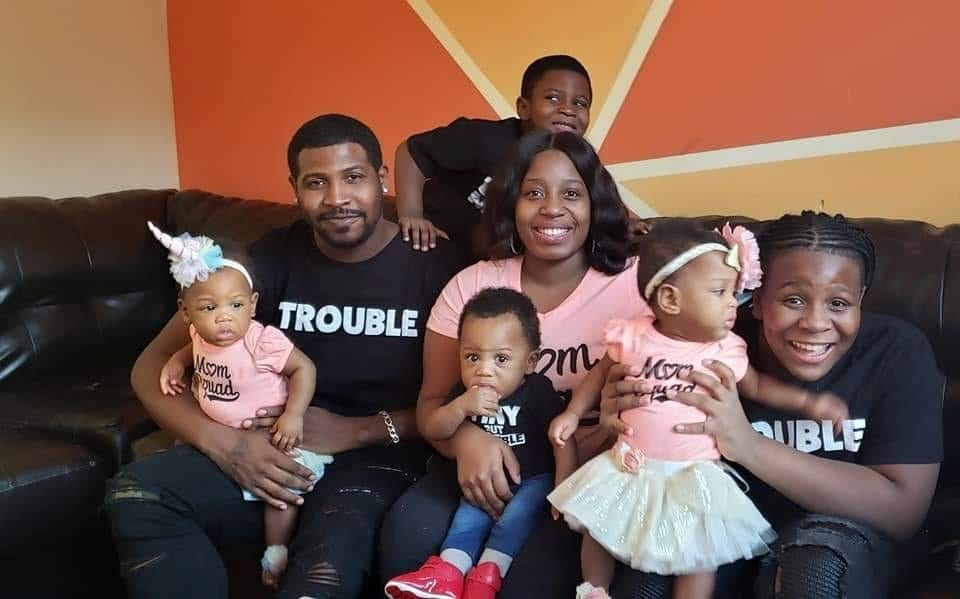 Couple Who Abandoned Their Dreams Of A Big Family After Tragedy Have Surprise TRIPLETS