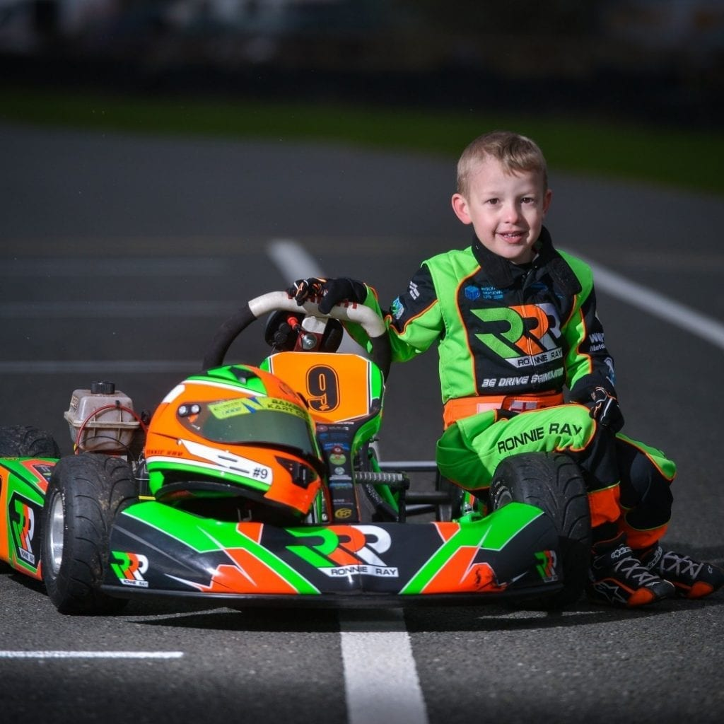 Go Carter! Meet 'Britain's Youngest Racing Driver' – The Fearless Four-Year-Old Who Drives 40mph Go Karts