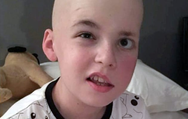 Schoolboy With FIVE Brain Tumours Has Amazed Medics With His Determination To Fight Back - And Is Now In Remission