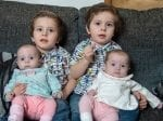 Mum Of Surprise Twins Thought She Was Seeing Double After She Accidentally Fell Pregnant For A Second Time – With ANOTHER Set