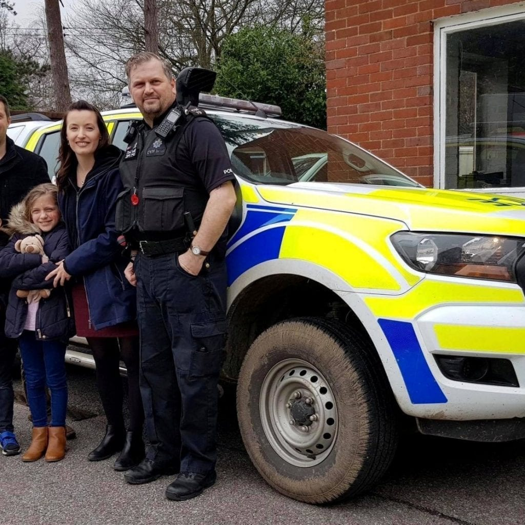 "Seven-Year-Old Boy Terrified Of The Police ""Treated Like VIP"" When Officers Invited Him To Spend Day With Them"
