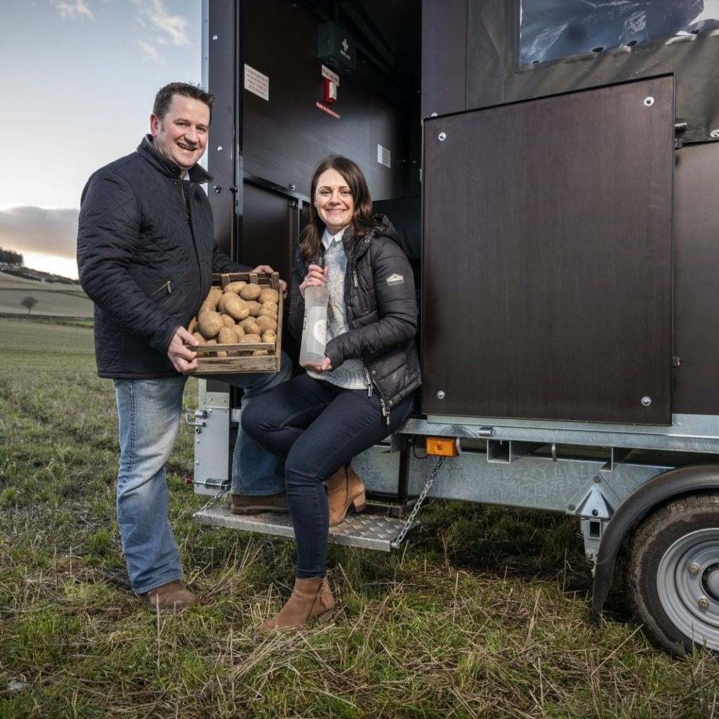 A Pair Of Farmers Are Making VODKA From Potatoes Which Are Too 'Ugly' To Sell In Supermarkets