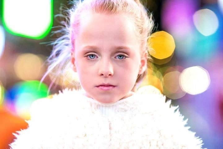 An Eight-Year-Old Who Was Born With A Hole In Her Heart Is Taking On The World Of Modelling