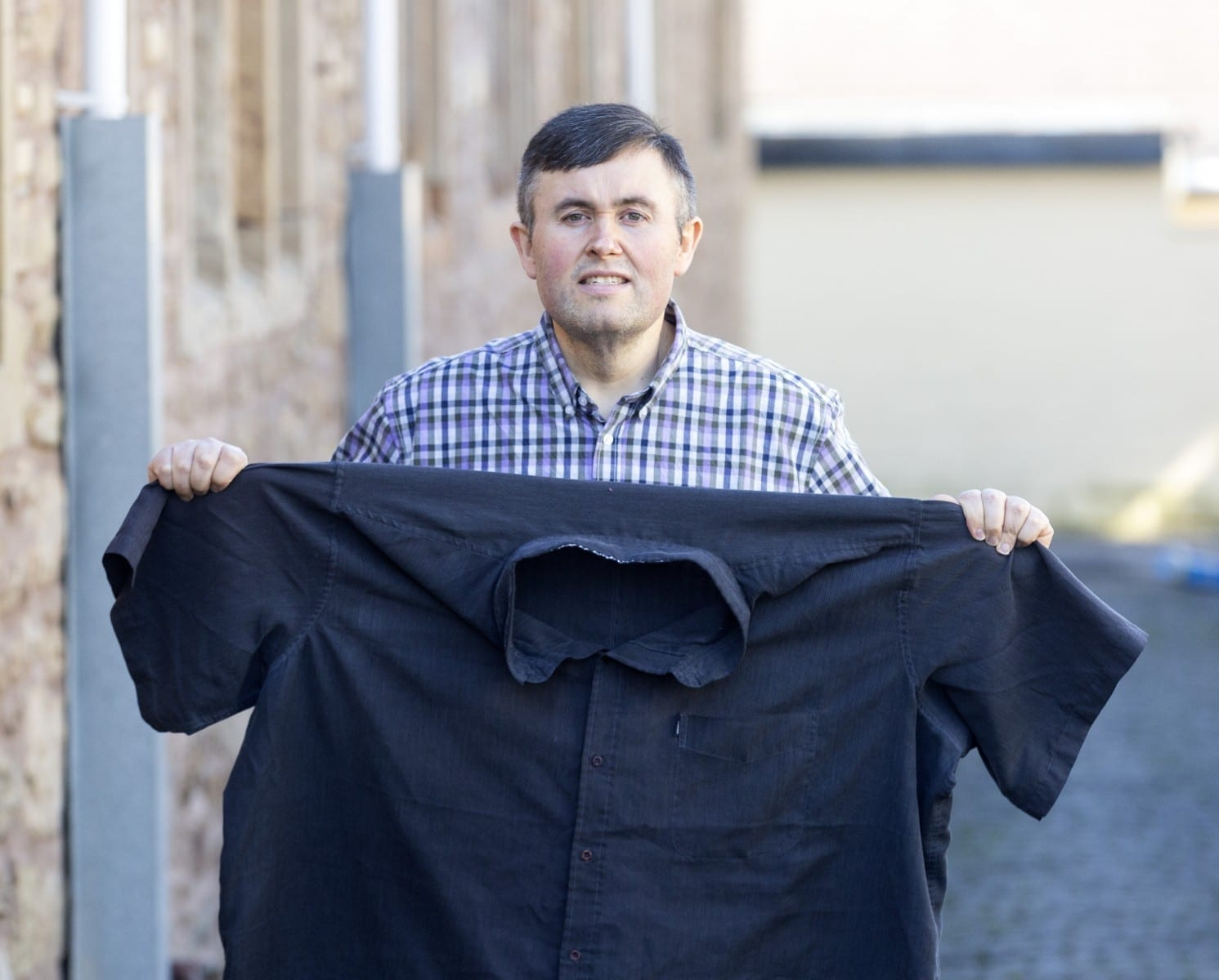 33st Super-Slimmer Is Half The Man He Used To Be After Losing A Staggering 17 Stone When Medics Told Him He Was Eating Himself To Death