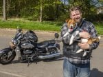This Adventurous Dog Rides A Motorbike And Even Has Her Own Tiny Jacket