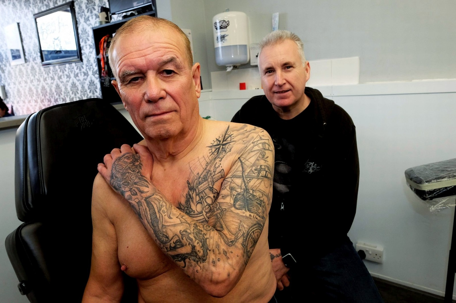 A Granddad Has Fallen In Love With Tattoos - In His 70s