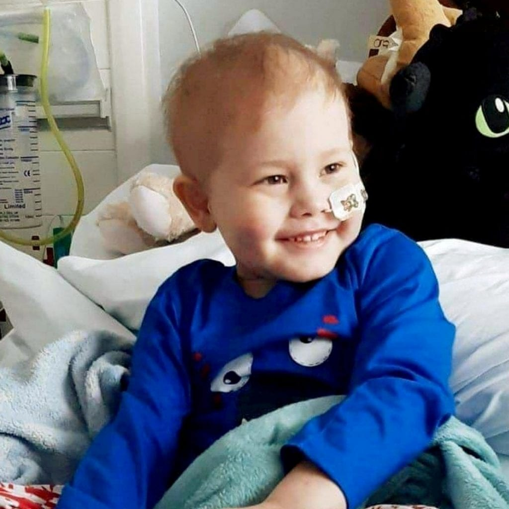 Five-Year-Old Oscar Has Found A Stem Cell MATCH After Thousands Of Donors Were Tested Across The UK