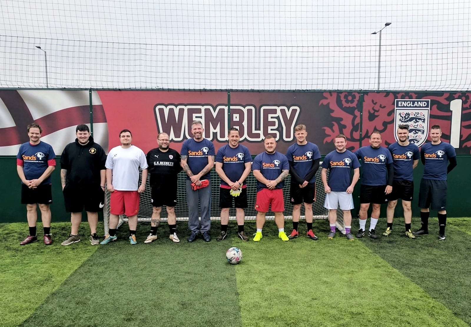 Grieving Dads Have Joined Together To Form One Of Britain's Most Heartbreaking Football Teams