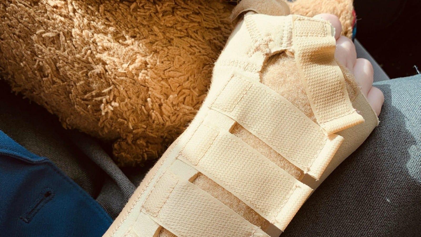 12-year-old girl suffered broken bones playing Russian Rock Paper Scissors using a brick