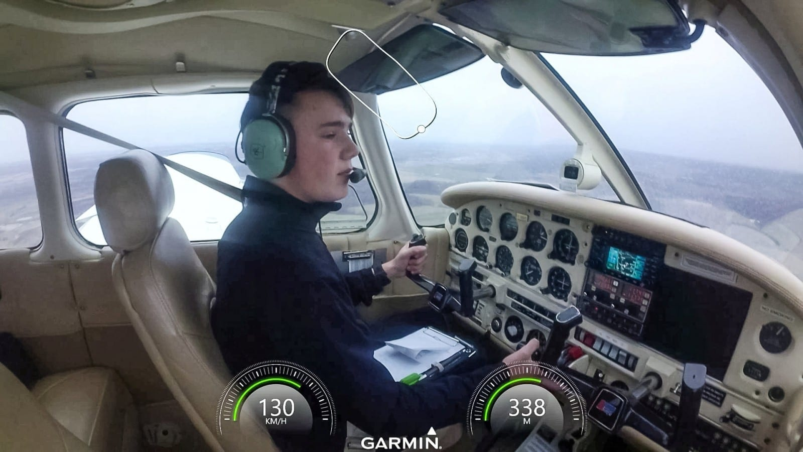 14-Year-Old Has Become The Youngest Brit To Fly Solo In A Powered Aircraft – Three Years Before He's Even Allowed To DRIVE