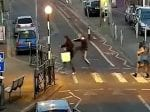 Sickening CCTV Shows The Moment An Elderly Man Is Kicked & Stamped On In The Street By Thug Couple While More Than TEN People Walk Past