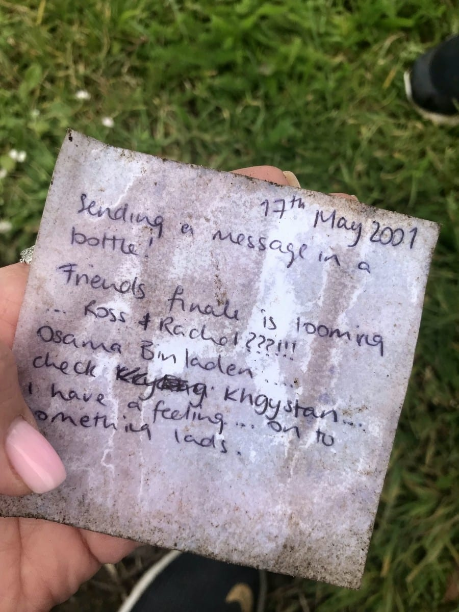 Mysterious Letter In A Bottle Dated 2001 Washes Up On Ireland Beach – With Tip On Bin Laden's Whereabouts Written Inside