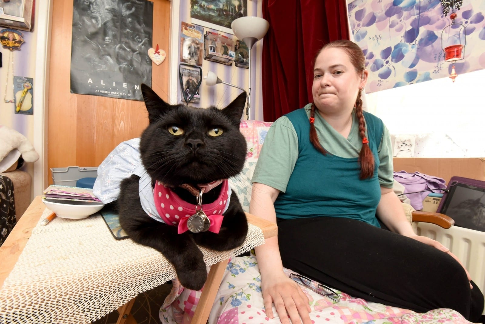 Disabled Woman Whose Cat HEADBUTTS Her When She Is Going Into Spasm Wants Legal Recognition For Emotional Support Animals