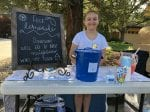 Little Girl Selflessly Set Up Lemonade Stand To Raise Money For Her Neighbours Who Lost Everything In A House Fire
