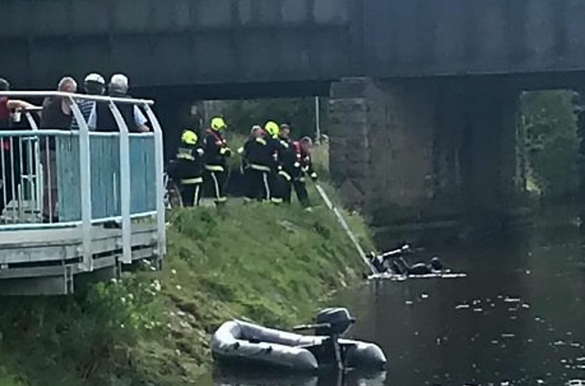 Foul-Mouthed Woman Drove Mobility Scooter Into River - Then Demanded The Heroes Who Saved Her Go Back In For Her Shopping