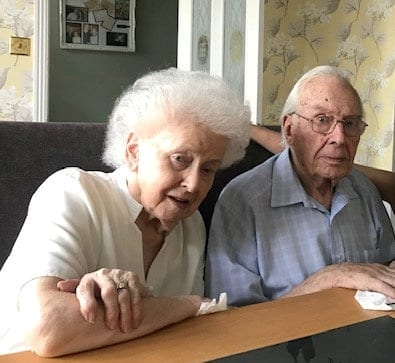 Heartbroken Widow 'Died Of A Broken Heart' Days After Her Husband Of 68 Years Passed Away