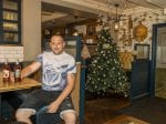 Pub Becomes First In Britain To Put Its CHRISTMAS Tree Up – On The Hottest Day Of Summer