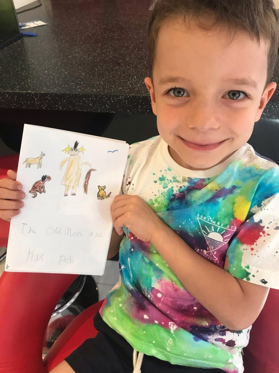 Little Boy Pens Book In Support Of Abused Animals After Seeing Heart-Wrenching RSPCA Advert