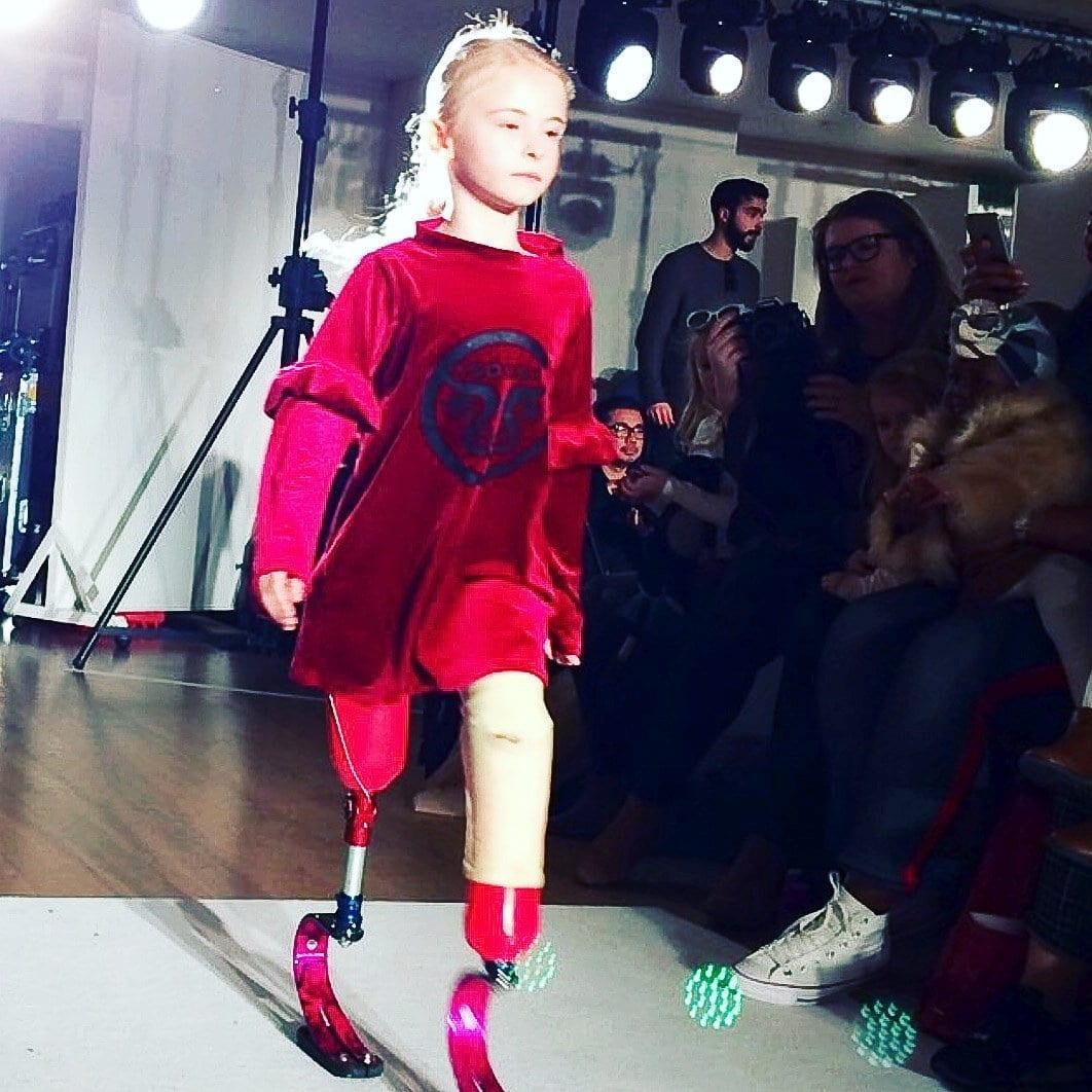 British Schoolgirl To Make History By Becoming First Child Double Amputee To Walk The Catwalk At New York Fashion Week