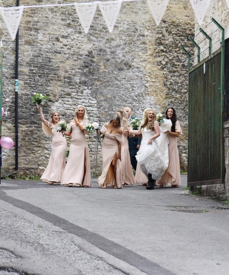 A Bride-To-Be Who Broke Her Leg On Her Hen Do Almost Had To Have The Limb Amputated - But Was Saved By Her Quick-Thinking Bridesmaid
