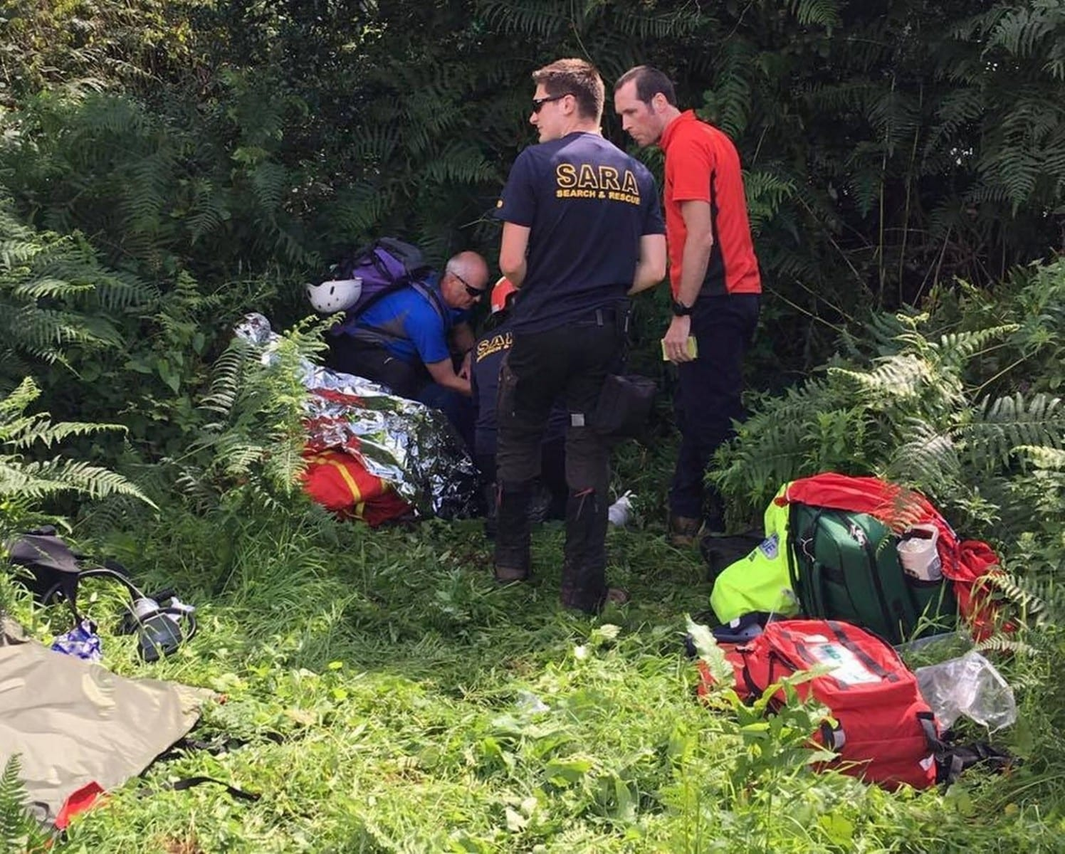 Rescuers Find 71-Year-Old Missing For Four Days Alive In The Forest Undergrowth After Massive Search